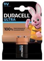 Duracell Ultra Power Battery - 9V